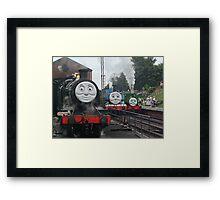 Peep!! Peep!!, Said Thomas Framed Print