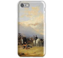 Richards Ansdell_Caledonian Coursing Meeting, near the Castle of Ardrossan iPhone Case/Skin