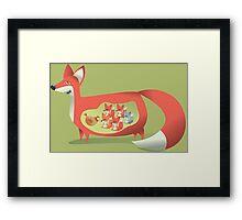 Fox Club Framed Print