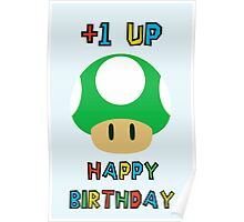 Happy Birthday - one UP Poster
