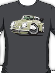 VW Beetle Convertible Cabriolet cream T-Shirt