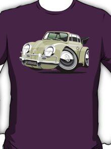 VW Beetle Convertible Cabriolet cream T-Shirt