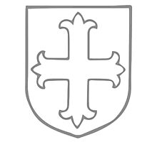 A Complete Guide to Heraldry - Figure 167 — Cross flory Photographic Print