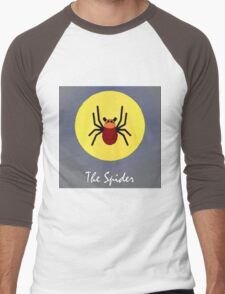 The Spider Cute Portrait Men's Baseball ¾ T-Shirt