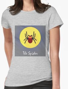 The Spider Cute Portrait Womens Fitted T-Shirt