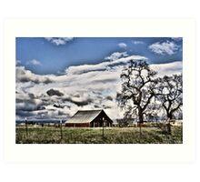 Central Valley Farm Art Print