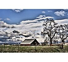 Central Valley Farm Photographic Print