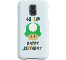 Happy Birthday - one UP Samsung Galaxy Case/Skin
