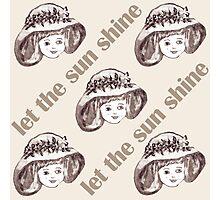 Let the sun shine 5 Photographic Print