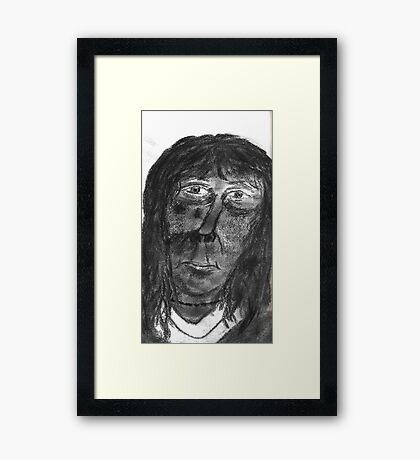 Mayan Woman Framed Print