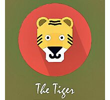 The Tiger Cute Portrait Photographic Print