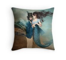 A Mermaids Love Throw Pillow