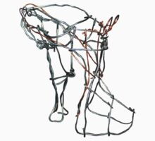 Wire shoe by paula cattermole artinapuddle