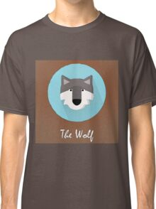 The Wolf Cute Portrait Classic T-Shirt