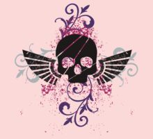Skull and Wings Kids Clothes