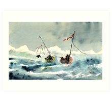 Rescue! Art Print