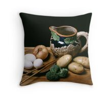 Still Life with Pitcher Throw Pillow