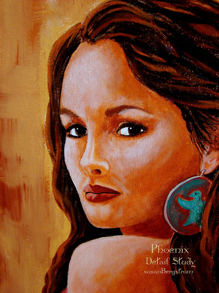 Phoenix- Detail Study by Susan Bergstrom