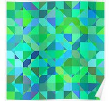 geometric seamless pattern Poster