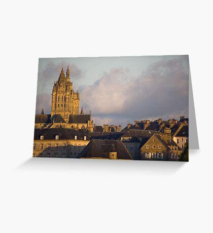 Saint Pierre de Coutances Greeting Card