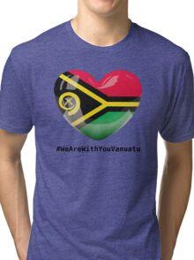 #WeAreWithYouVanuatu Tri-blend T-Shirt