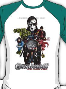 Wrestlemania 31: Avengers poster T-Shirt