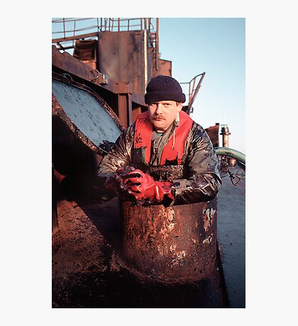 Oil-Expert Photographic Print