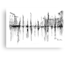 Hotel View Canvas Print