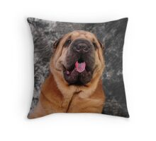 Now this is a nose!  Throw Pillow