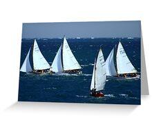 Ships Ahoy  Greeting Card