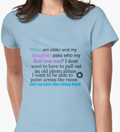 when am older  Womens Fitted T-Shirt