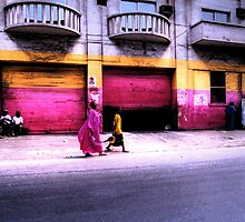 The Colors of Dakar by Wayne King