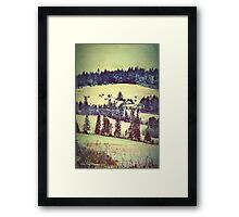 In Winter Days Gone By Framed Print
