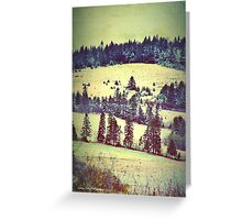 In Winter Days Gone By Greeting Card