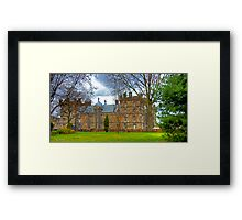 George Herriot's School Framed Print