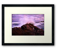 Currumbin Splash Framed Print