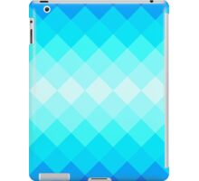 Blue Geometry iPad Case/Skin