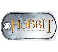 The Hobbit DogTag Poster
