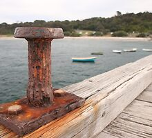 Rusty Bollard by John Billing