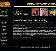Website - Digital Dynamic Studios by thedvguy