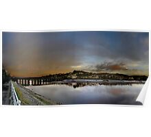 Bideford Quay Panoramic Poster