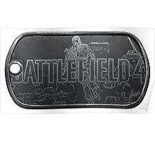 Battlefield 4 Dogtag Poster