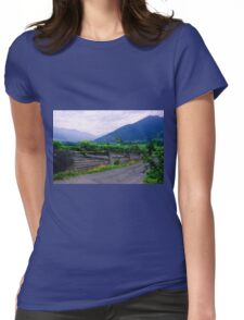 Valley of Vineyards Womens Fitted T-Shirt