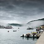 Dartmouth in the Fog by Robert Kendall