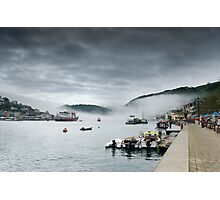 Dartmouth in the Fog Photographic Print