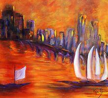 Harbour Glow  by Kym  Breeze