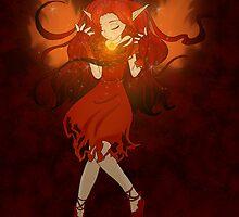 Fire Fairy by Bethany Angelstar