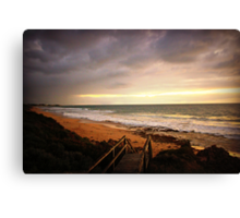 Just after sunset Canvas Print