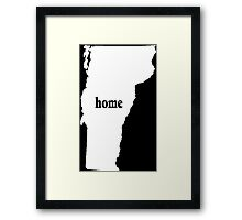 Original Vermont Home - Tshirts & Hoodies Framed Print