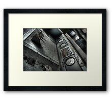 Console Framed Print